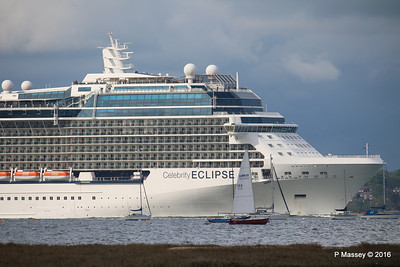 CELEBRITY ECLIPSE Departing Southampton PDM 10-05-2016 16-54-19
