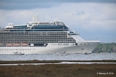 CELEBRITY ECLIPSE Departing Southampton PDM 10-05-2016 16-55-06
