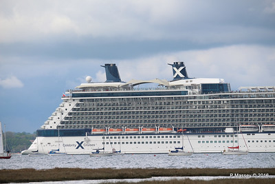 CELEBRITY ECLIPSE Departing Southampton PDM 10-05-2016 16-55-10