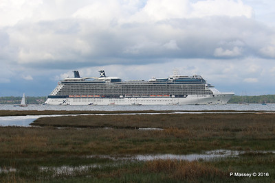CELEBRITY ECLIPSE Departing Southampton PDM 10-05-2016 16-55-13