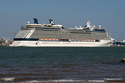 CELEBRITY ECLIPSE Departing Southampton PDM 29-04-2017 15-15-12