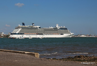 CELEBRITY ECLIPSE Departing Southampton PDM 29-04-2017 15-13-38
