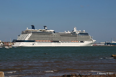 CELEBRITY ECLIPSE Departing Southampton PDM 29-04-2017 15-14-51