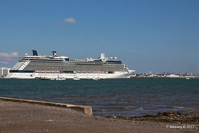CELEBRITY ECLIPSE Departing Southampton PDM 29-04-2017 15-13-00