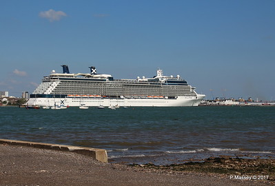 CELEBRITY ECLIPSE Departing Southampton PDM 29-04-2017 15-13-39