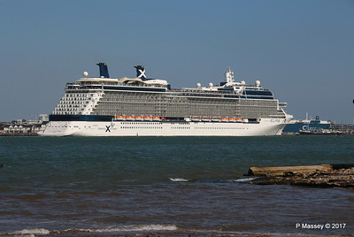 CELEBRITY ECLIPSE Departing ss SHIELDHALL Southampton PDM 29-04-2017 15-15-50
