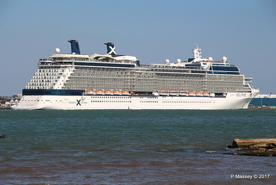 CELEBRITY ECLIPSE Departing Southampton PDM 29-04-2017 15-15-40