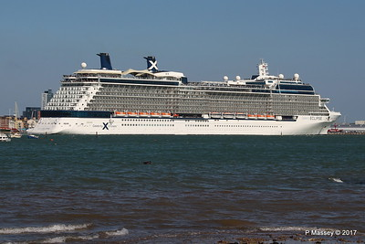 CELEBRITY ECLIPSE Departing Southampton PDM 29-04-2017 15-14-52