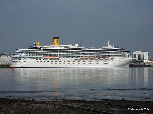COSTA MEDITERRANEA Southampton PDM 08-09-2014 16-35-58