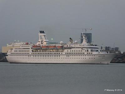 6 Sep 2014 ASTOR Outbound Southampton