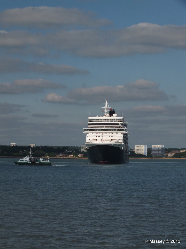 QUEEN ELIZABETH Departs Southampton PDM 09-06-2013 16-53-27