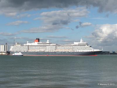 QUEEN ELIZABETH Departing Southampton OCEAN SCENE PDM 10-08-2013 17-52-20