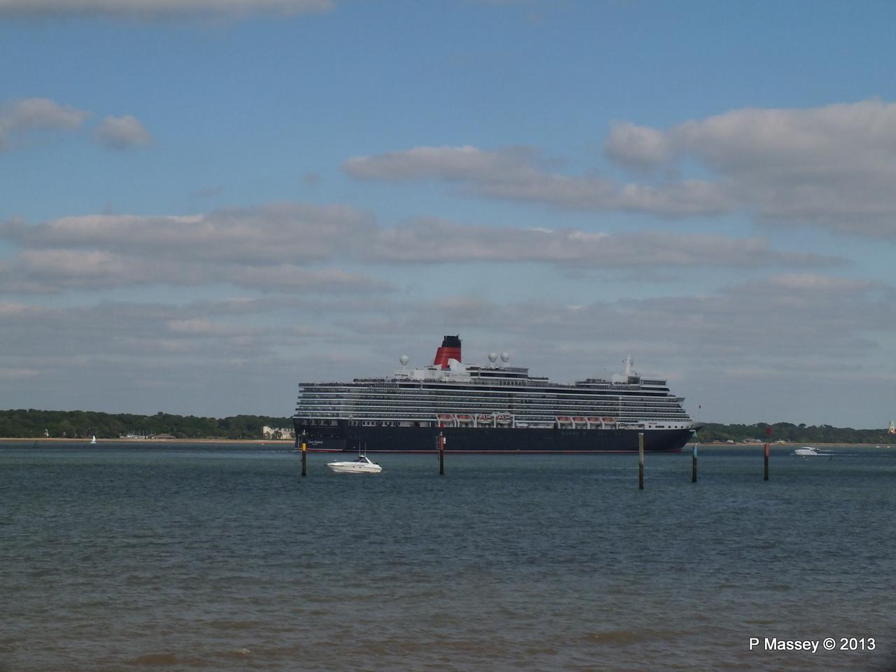 QUEEN ELIZABETH Departs Southampton PDM 09-06-2013 17-01-56