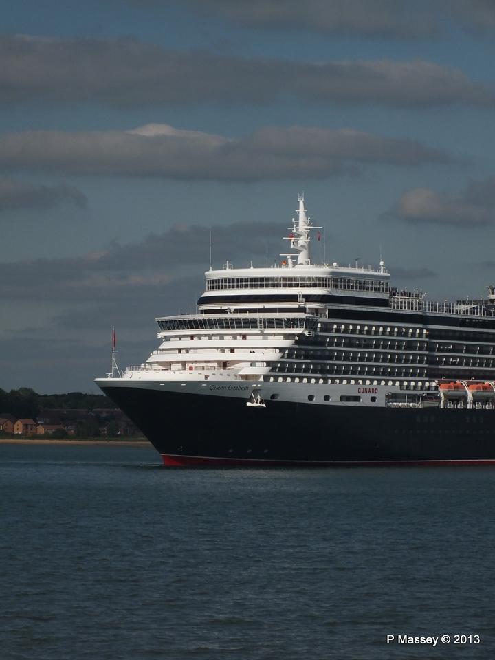 QUEEN ELIZABETH Departs Southampton PDM 09-06-2013 16-52-24