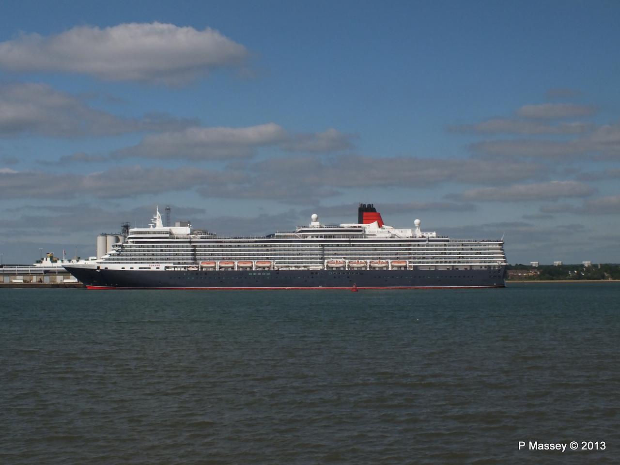 QUEEN ELIZABETH Departs Southampton PDM 09-06-2013 16-48-05