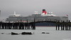 QUEEN ELIZABETH Over Husbands Jetty Southampton PDM 23-12-2017 11-37-21