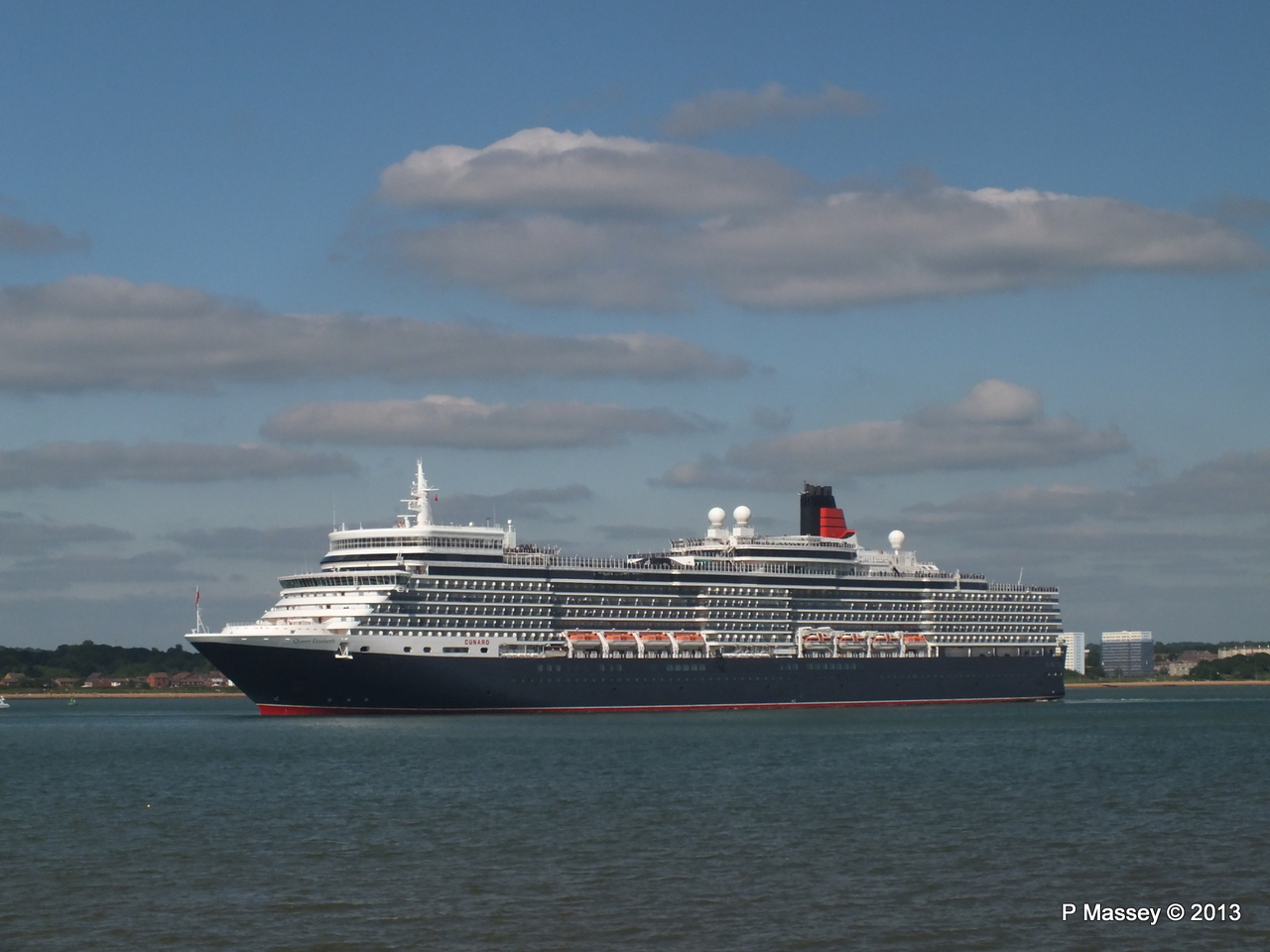 QUEEN ELIZABETH Departs Southampton PDM 09-06-2013 16-51-51