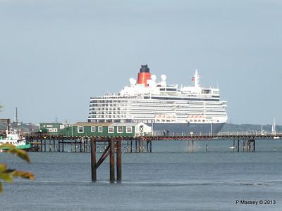 QUEEN ELIZABETH Departing Southampton PDM 10-08-2013 18-01-38