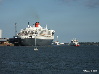 QUEEN MARY 2 RED ODPREY RED FALCON Southampton PDM 13-07-2014 19-28-31