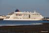 EUROPA 2 Outbound Southampton PDM 22-07-2016 20-08-15