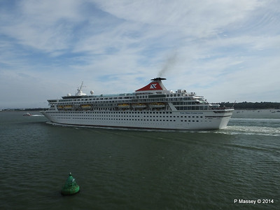 12 Jul 2014 BALMORAL Departing