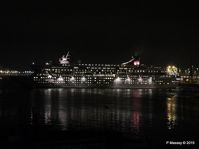 BALMORAL Departing Southampton Night PDM 04-01-2015 17-30-45
