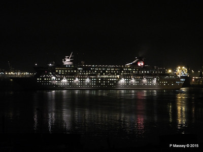 BALMORAL Departing Southampton Night PDM 04-01-2015 17-30-52