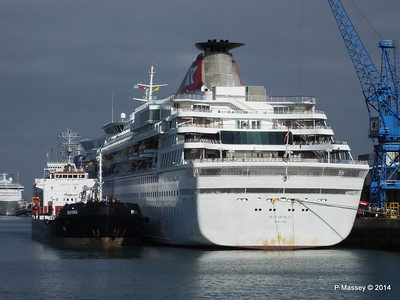 BALMORAL returned from World Cruise PDM 19-04-2014 07-51-25
