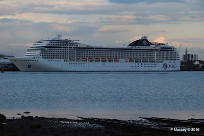 MSC MUSICA Departing Southampton PDM 27-04-2016 19-26-57