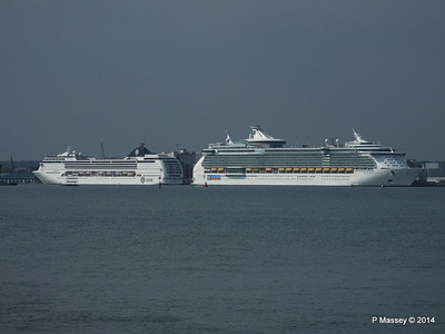 MSC OPERA INDEPENDENCE OF THE SEAS Southampton PDM 17-05-2014 16-24-32