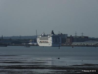 MSC OPERA Departing Southampton PDM 17-05-2014 18-22-16