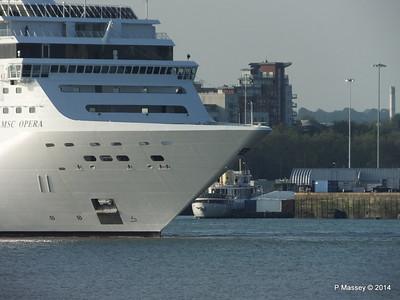 MSC OPERA Departing Southampton SHEMARA PDM 17-05-2014 18-46-14