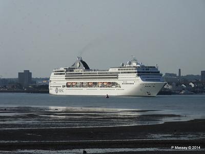 MSC OPERA Departing Southampton PDM 17-05-2014 18-44-12
