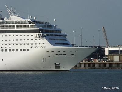 MSC OPERA Departing Southampton PDM 17-05-2014 18-48-23
