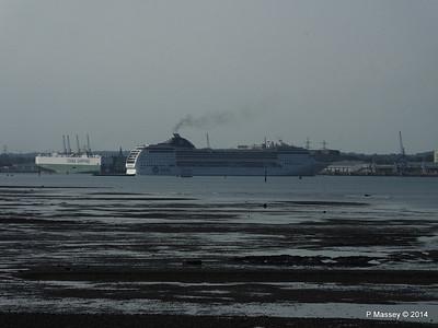 MSC OPERA Departing Southampton PDM 17-05-2014 18-28-39