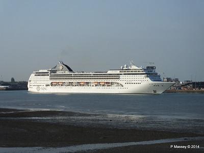 MSC OPERA Departing Southampton PDM 17-05-2014 18-48-12