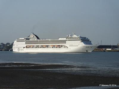 MSC OPERA Departing Southampton PDM 17-05-2014 18-47-42