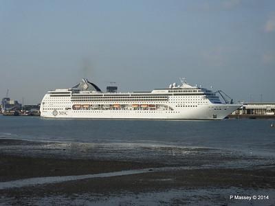 MSC OPERA Departing Southampton PDM 17-05-2014 18-48-45