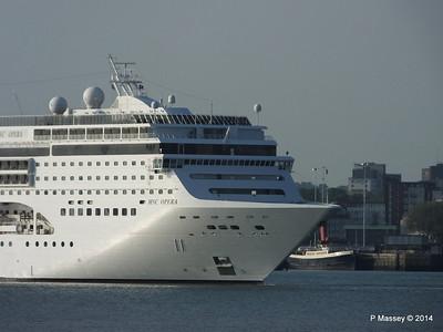 MSC OPERA Departing Southampton PDM 17-05-2014 18-45-54
