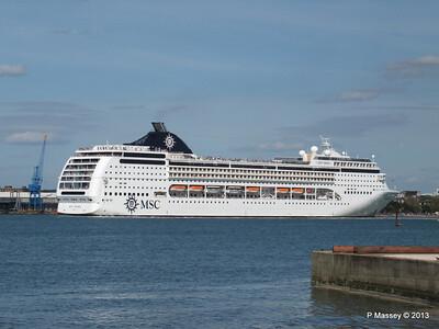 MSC OPERA Departing Southampton PDM 29-06-2013 16-51-44