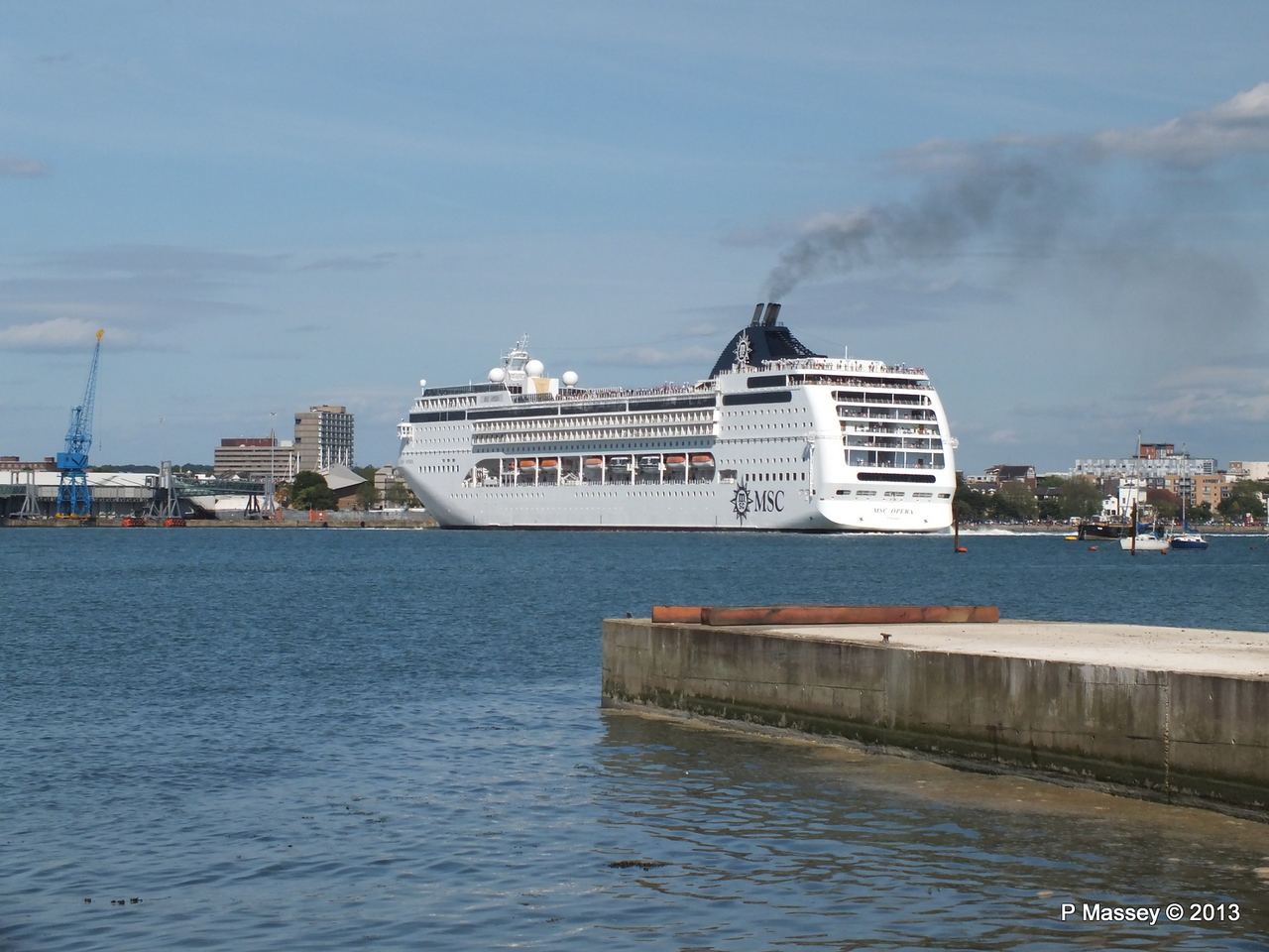 MSC OPERA Departing Southampton PDM 29-06-2013 16-50-26