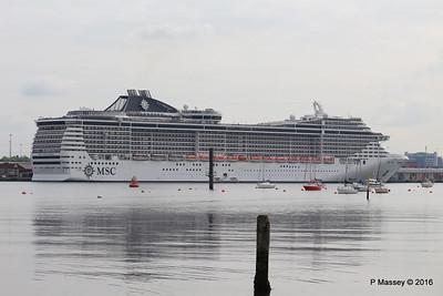 26 May 2016 MSC SPLENDIDA Alongside Southampton