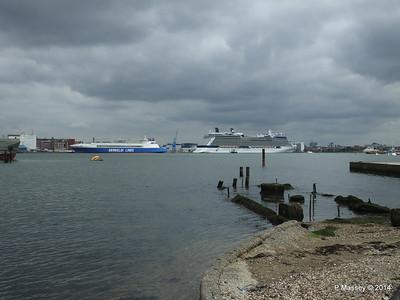 EUROCARGO SALERNO CELEBRITY ECLIPSE Southampton PDM 02-05-2014 14-38-45