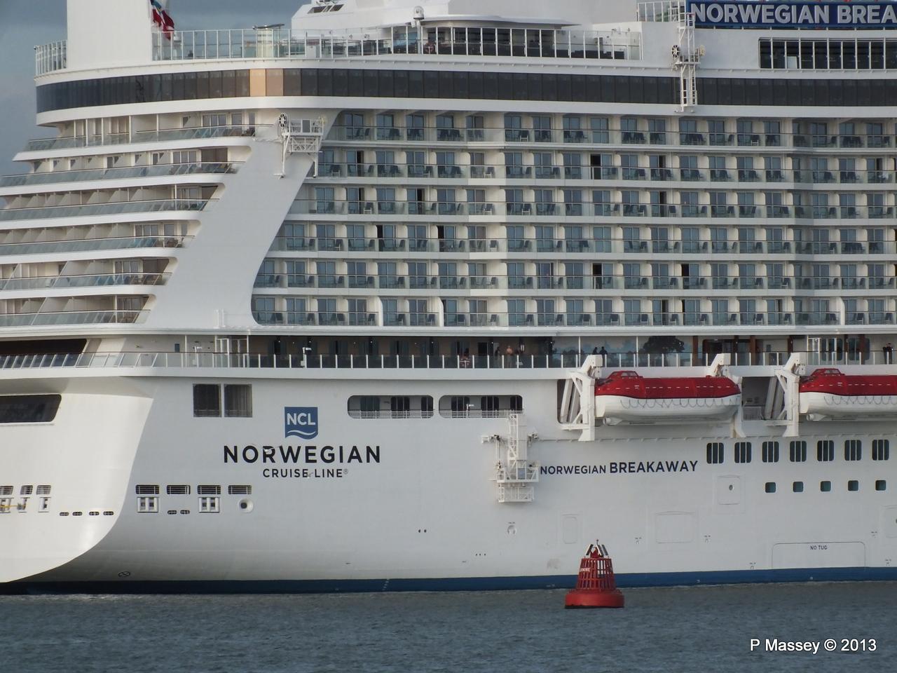 NORWEGIAN BREAKAWAY Southampton PDM 29-04-2013 18-49-58