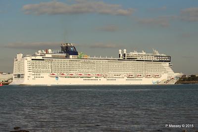 26 Sep 2015 NORWEGIAN EPIC Outbound Southampton
