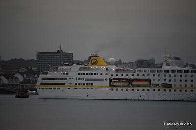 HAMBURG Departing Southampton PDM 07-05-2015 20-01-07