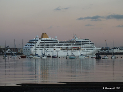 11 Nov 2012 ADONIA Departing