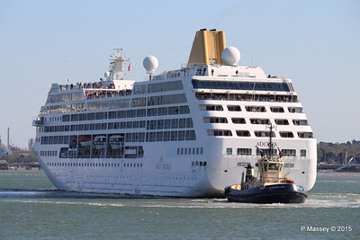 18 Apr 2015 ADONIA Outbound Southampton