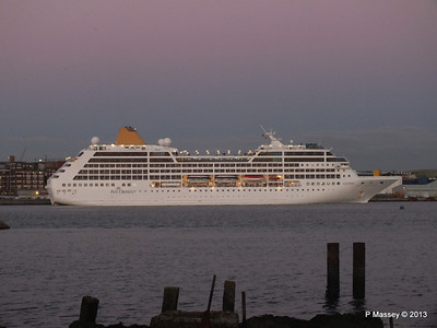 22 Nov 2013 ADONIA Departing