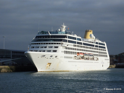 4 Apr 2015 ADONIA Alongside Southampton
